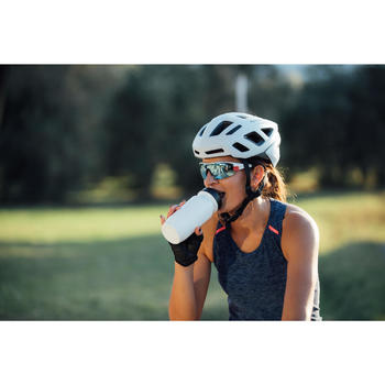 Bidon vélo ESSENTIAL 550ml blanc