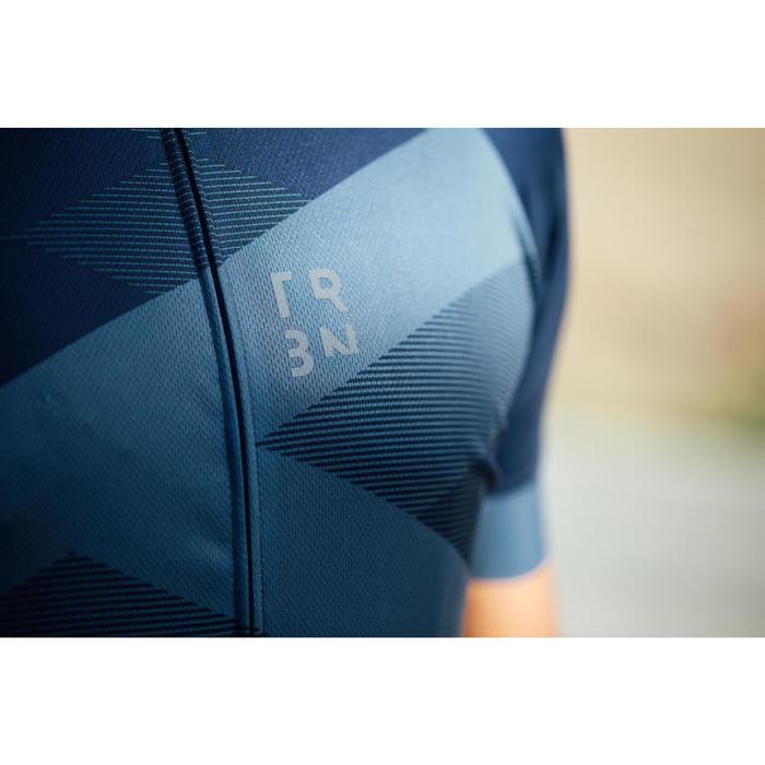 Kurzarm-Radtrikot Rennrad RC 500 X Herren blau