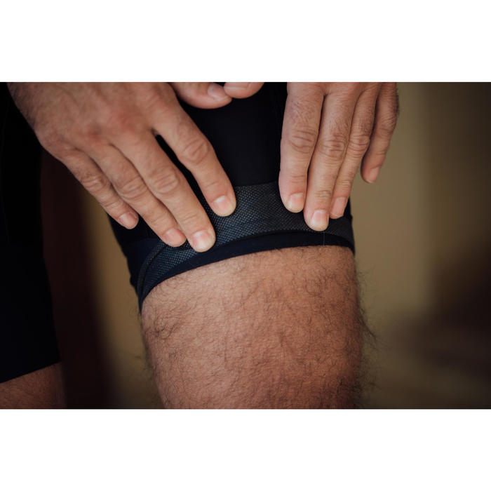 Bibless Road Cycling Touring Shorts With Pocket RC500 - Black