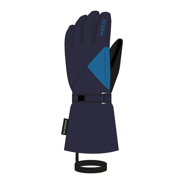 Skihandschoenen voor kinderen 500 marineblauw