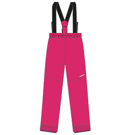 Pantalon de ski alpin 100 – Enfants