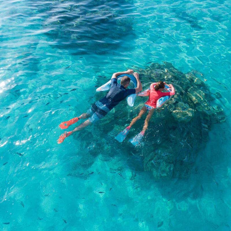 I vantaggi dell'aiuto al galleggiamento durante lo snorkeling | DECATHLON