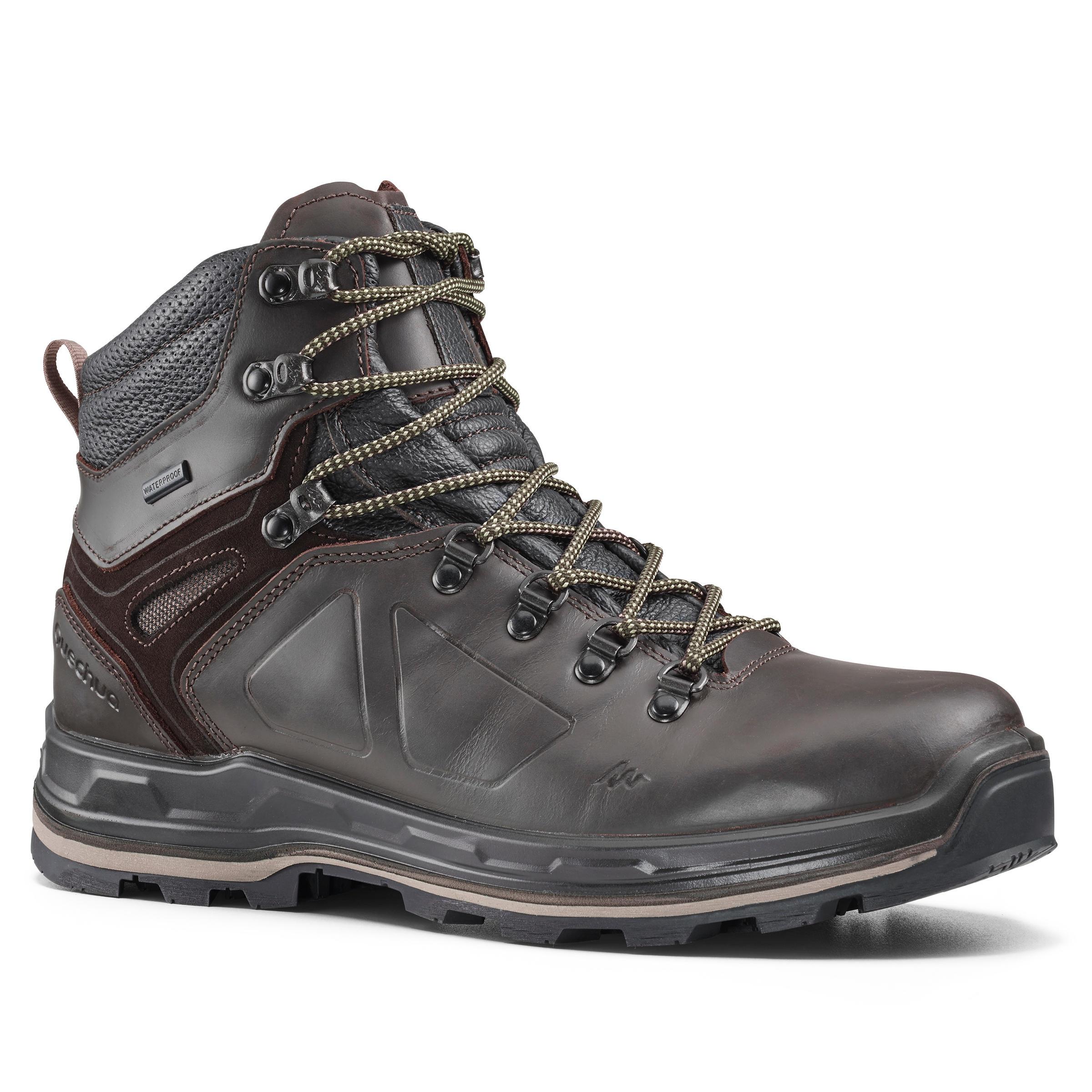 Trekkingschuhe Trek500 Herren Wasserdicht   Schuhe > Outdoorschuhe > Trekkingschuhe   Forclaz