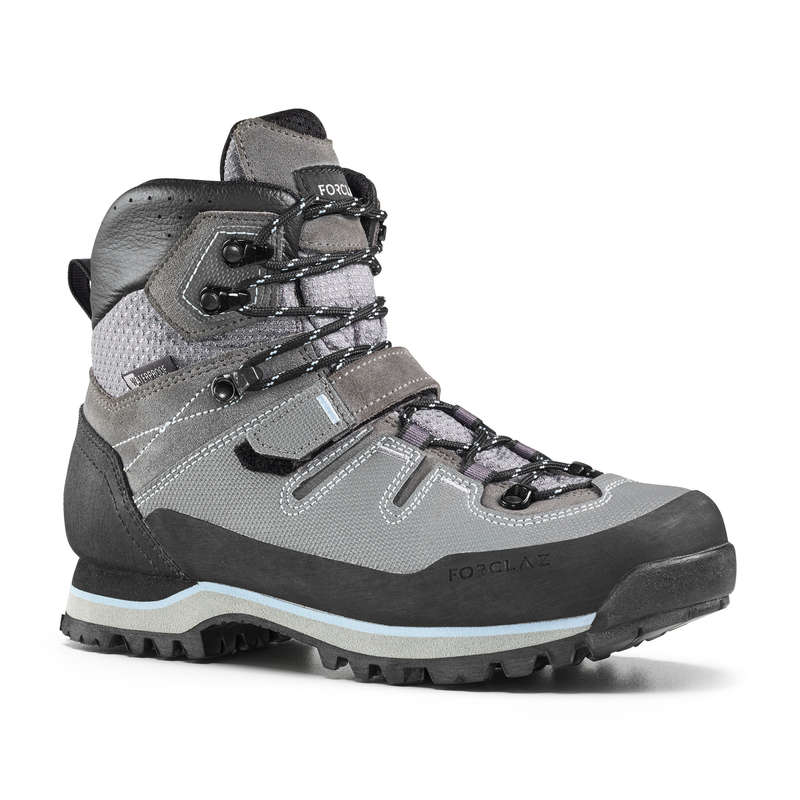 WOMEN SHOES MOUNTAIN TREK Trekking - Trek 700 Womens Waterproof Walking Boots - Grey  FORCLAZ - Trekking