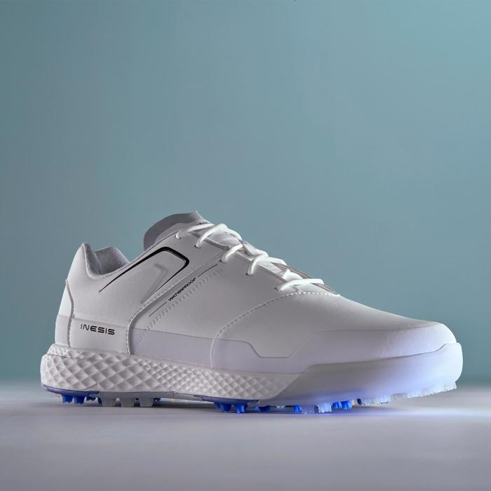 ZAPATOS GOLF HOMBRE GRIP WATERPROOF BLANCO