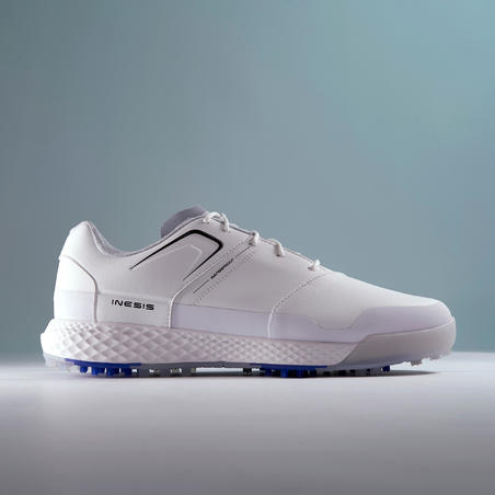 CHAUSSURES GOLF HOMME GRIP IMPERMÉABLE BLANCHES