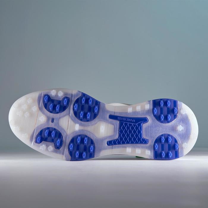 男款防水高爾夫球鞋GRIP-白色