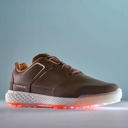 CHAUSSURES GOLF HOMME GRIP WATERPROOF MARRON