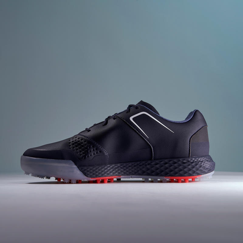 MEN'S WATERPROOF GRIP GOLF SHOES NAVY