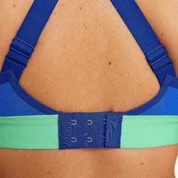 Hardloopbeha Comfort gemêleerd blauw
