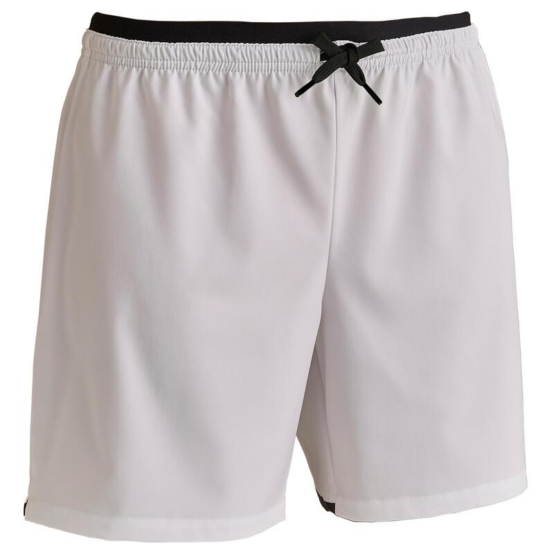 Pantalón Corto de Fútbol F500 Mujer Blanco