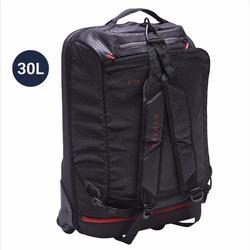 30L 滾輪式團體運動包 Away - 黑色/紅色