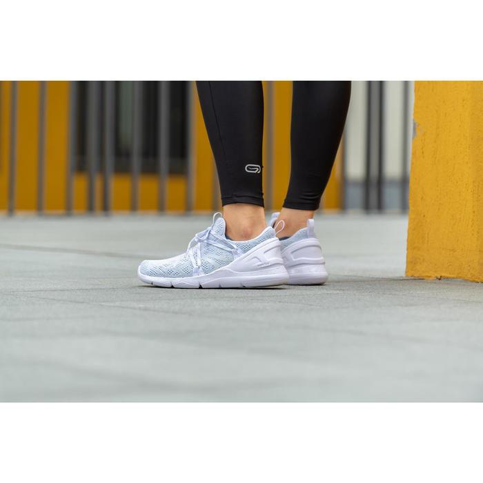 Zapatillas de Marcha Deportiva Newfeel PW 140 mujer blanco
