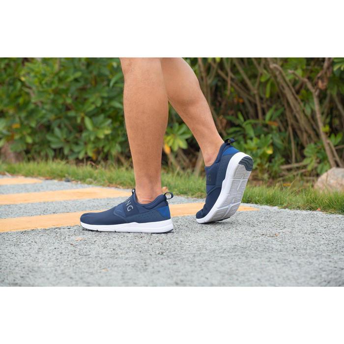 男款健走鞋PW 160 SlipOn-軍藍色