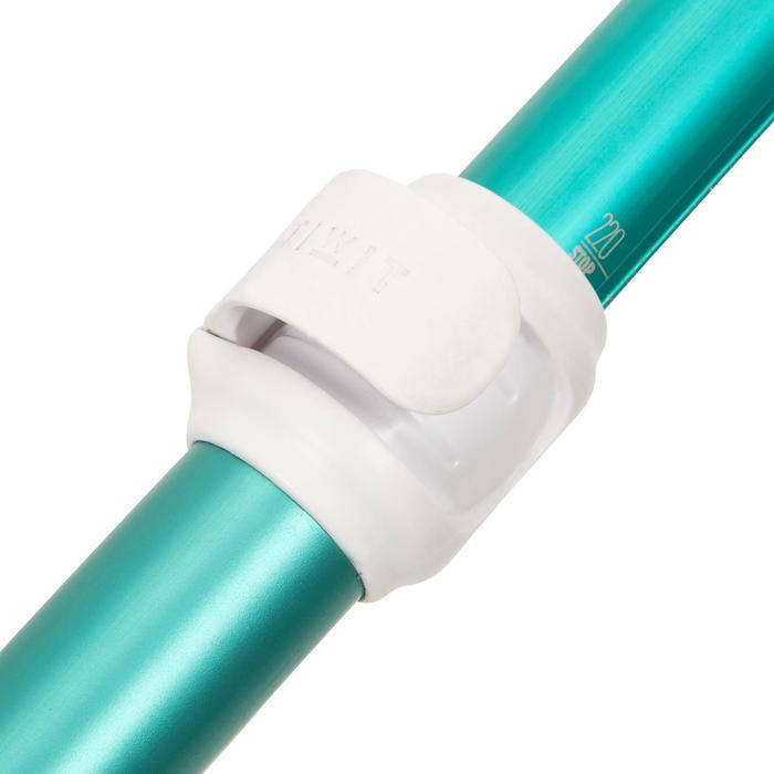 SUP-Paddel StandUpPaddle 100 zerlegbar und verstellbar 170–220cm grün