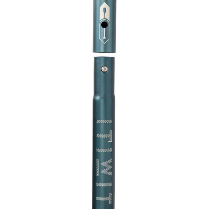 VERSTELBARE EN DEMONTEERBARE SUP-PEDDEL 170-220 CM BLAUW