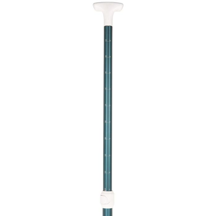PAGAIE STAND UP PADDLE 100 DEMONTABLE REGLABLE 170-220 CM BLEUE