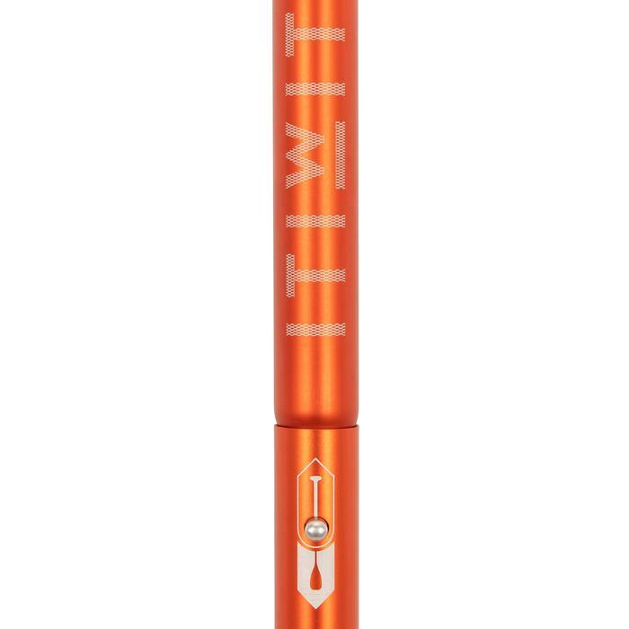 Verstelbare en demonteerbare sup-peddel 100 170-210 cm oranje