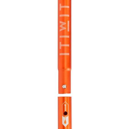 ADJUSTABLE SPLIT STAND-UP PADDLE (SUP) BOARD PADDLE 170-220 cm ORANGE