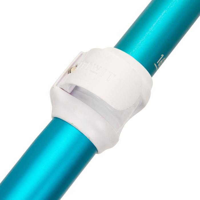 Verstelbare/demonteerbare sup-peddel 100 140-180 cm voor kleinere personen blauw