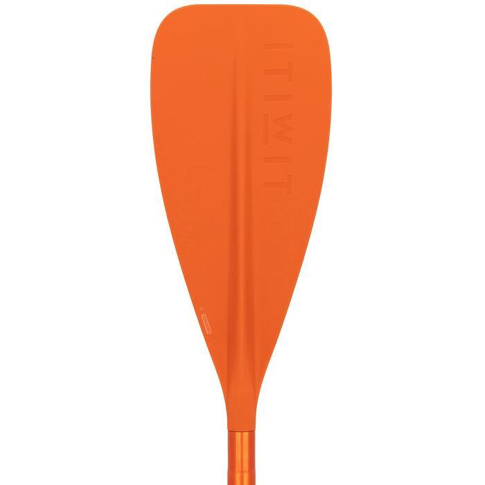 SUP-Paddel StandUpPaddle 100 verstellbar 170–220cm orange