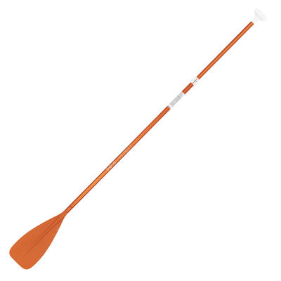 PAGAIE STAND UP PADDLE 100 REGLABLE 170-220 CM ORANGE