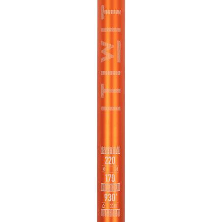 Регульоване весло для SUP-дошки, 170-220 см - Помаранчеве