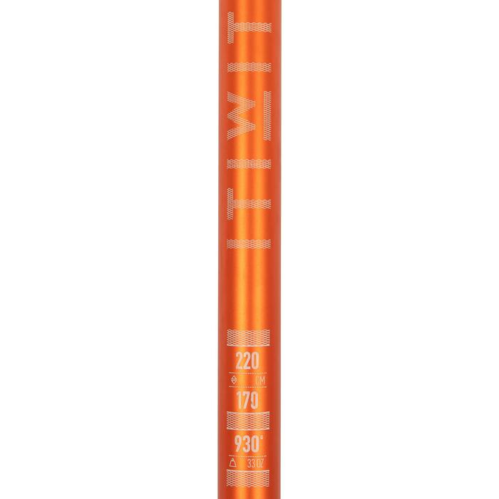 PAGAIE DE STAND UP PADDLE 100 REGLABLE 170-220 CM ORANGE 2 PARTIES