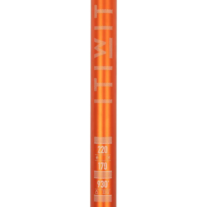 Sup peddel 100 verstelbaar van 170-220 cm oranje