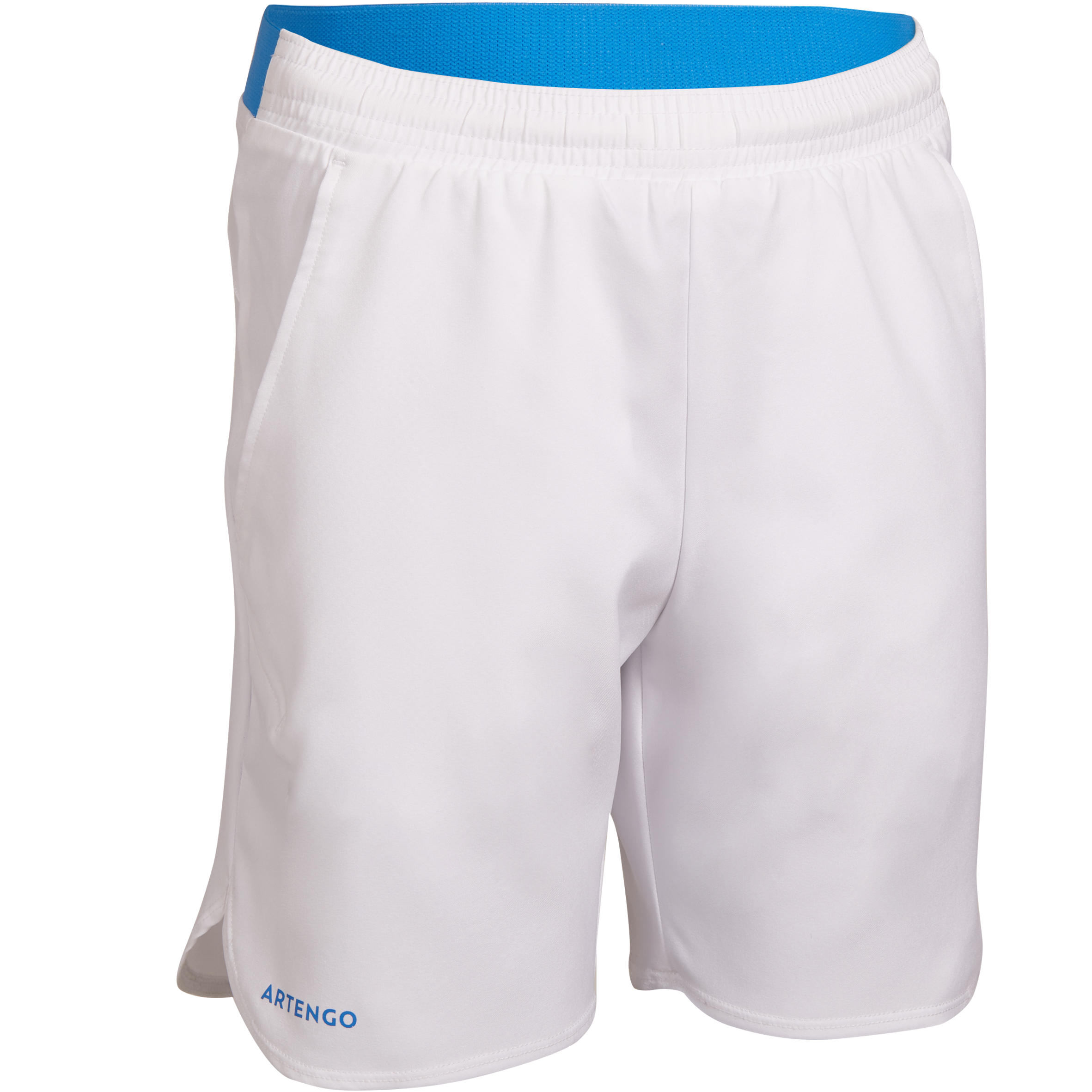 SHORT TENIS JÚNIOR 500 BLANCO
