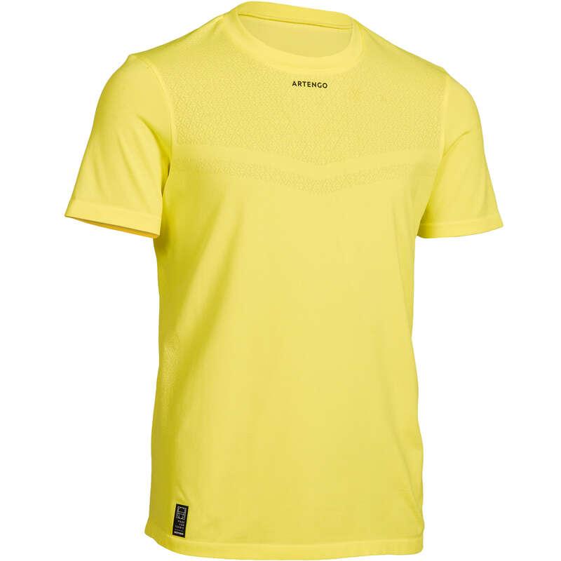 ABBIGLIAMENTO TUTTE LE STAGIONI JUNIOR Sport di racchetta - T-shirt junior 900 giallo fluo ARTENGO - PADEL
