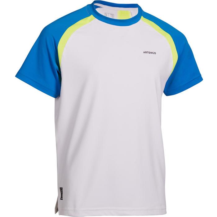 T-shirt kinderen 500 wit