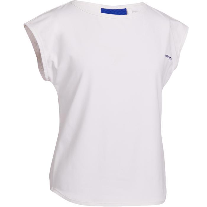 女童款T恤500-白色