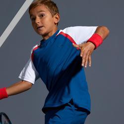 T-Shirt 500 Kinder blau/rot