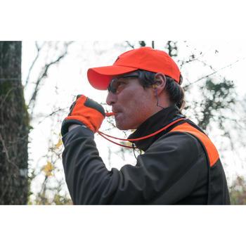 Silbato Adiestramiento Perro Caza Solognac 500 Naranja