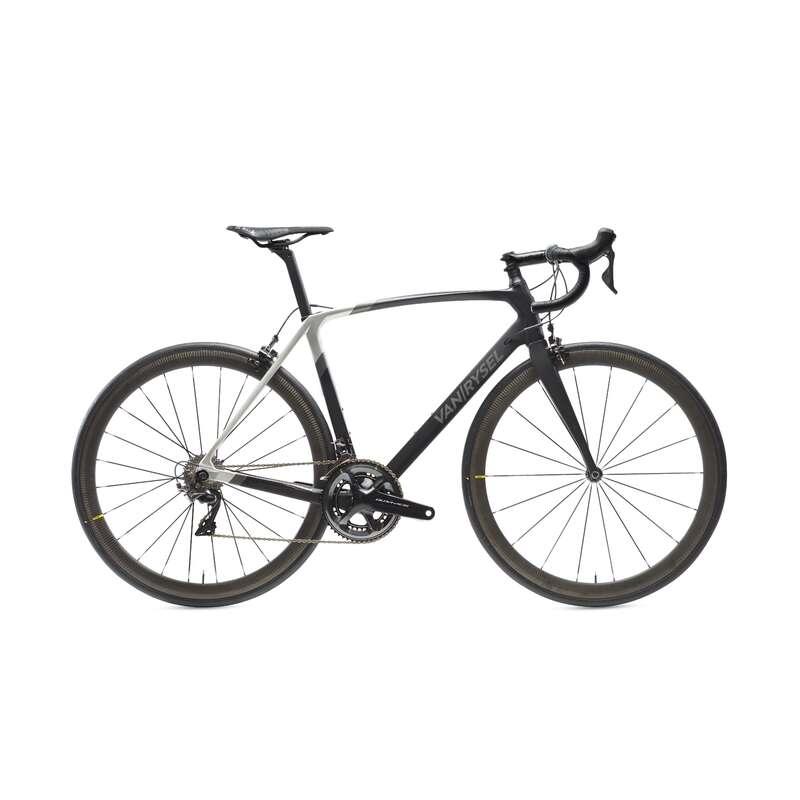 BICI DA CORSA PERFORMANCE UOMO Ciclismo, Bici - Bici da corsa ULTRA CF nera VAN RYSEL - Ciclismo su strada