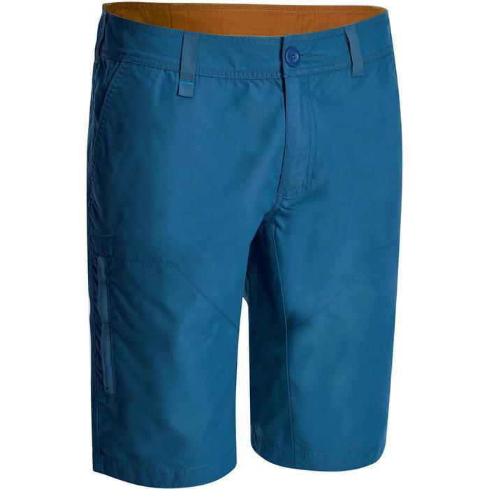 NH500 男款自然進行短褲 – 藍色灰色