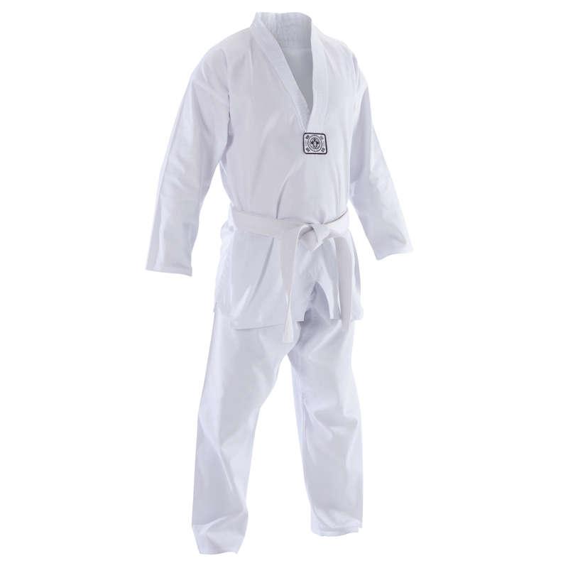 TAE KWON DO Boksz és harcművészet - Felnőtt taekwondo ruha 500-as OUTSHOCK - Harcművészet