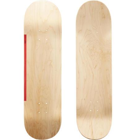 "Riedlentės lenta ""100"", 8,5 col., medinė / raudona"