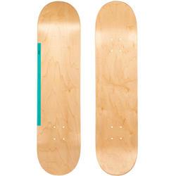 "Skateboard-Deck 100 7,75"" holzfarben/grün"