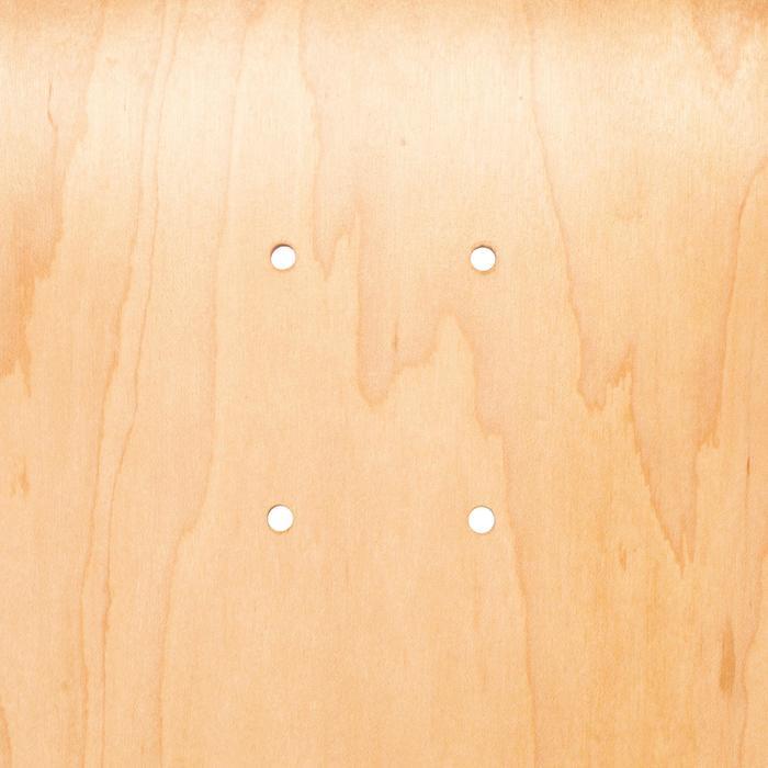 """Skateboard-Deck 100 Größe 8,75"""" holzfarben/schwarz"""