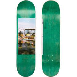 """Tabla Skate OXELO DECK 120 talla 8,75"""" Adulto Verde."""