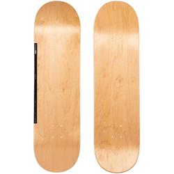 "Tabla Skate OXELO DECK 120 talla 8,75"" Adulto Madera Negro."