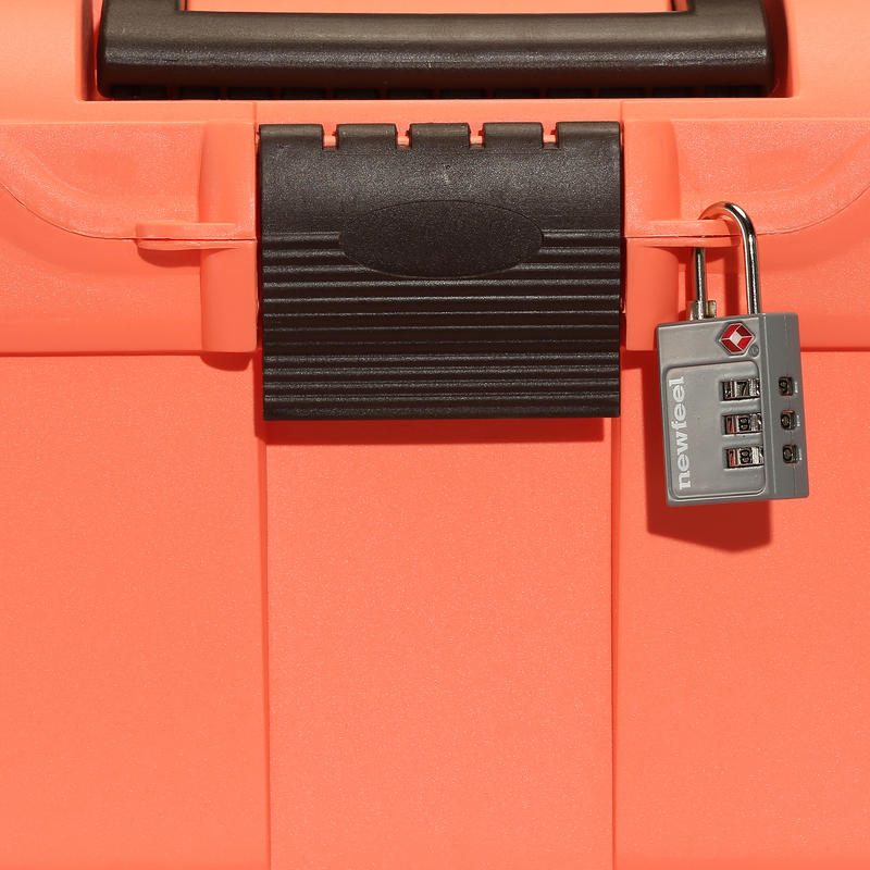 GB300 Horse Riding Grooming Box - Fluorescent Orange/Brown