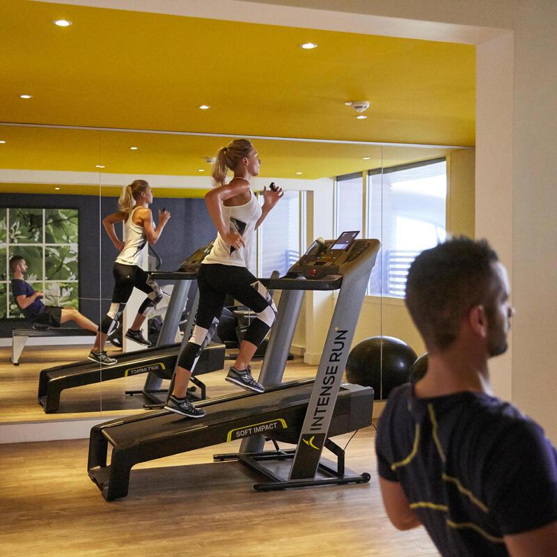 Intense Run Treadmill - Grey/Balck