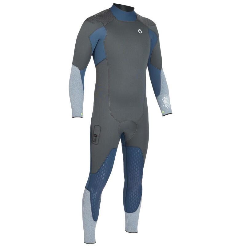 Men's neoprene SCD scuba diving suit 500 5 mm with back zip