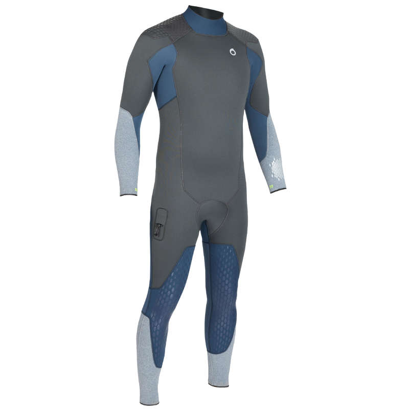 SCD SUITS 16/24° Scuba Diving - Men's 5 mm Wetsuit SCD 500 SUBEA - Scuba Diving