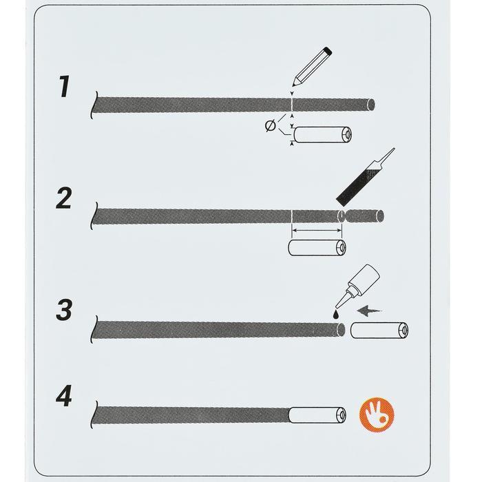 TULIPE TEFLON 1,6/1,8mm PF-PA ETT