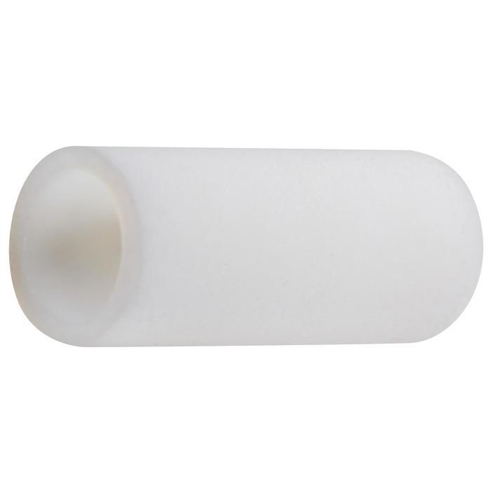 Hülsen Teflon Austrittsdurchmesser 2,2/2,8 mm weiß