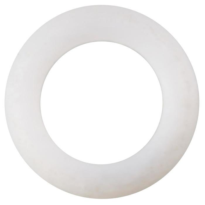 Witte teflon topbussen met uitgangsdiameter van 3,7 en 4,7 mm